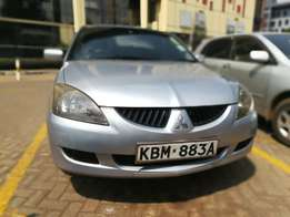 Clean Mitsubishi Lancer (2003) 1800cc petrol automatic, accident free