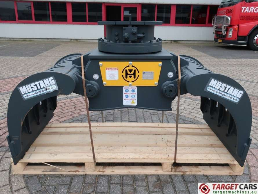Mustang GRP1500 Hydr.Rotation Sorting 102cm Grapple 17~23T