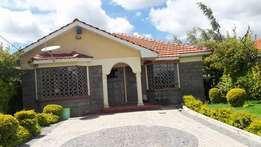 3bedroom bungalow to let 27000.
