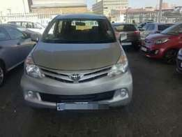 2013 Toyota Avanza 1.5 Lt excellent condition with low mileage