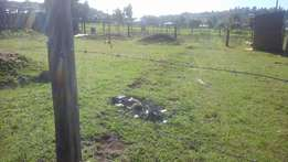 1/8 plot for sale at maili nne mountain view estate in eldoret.