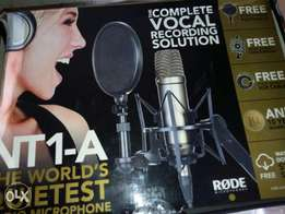 Rode studio microphone
