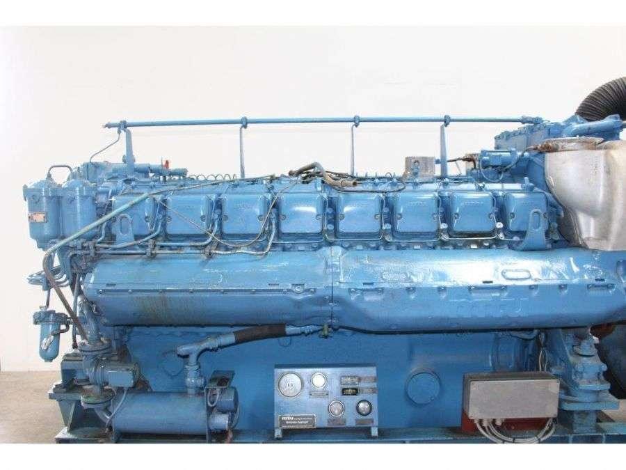 MTU 16 V 396 engine - 1984 for sale | Tradus