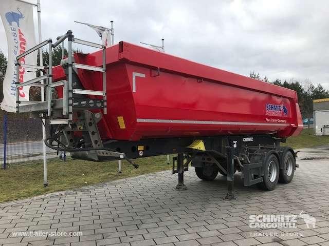 Schmitz Cargobull Kipper Stahlrundmulde 24m³ - 2016