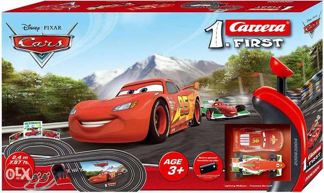 Disney Carrera first car race toy