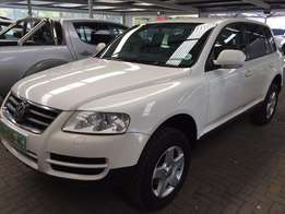 2007 VW Touareg 2.5D fully 4x4