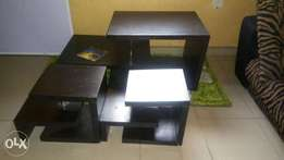 Table and one stool