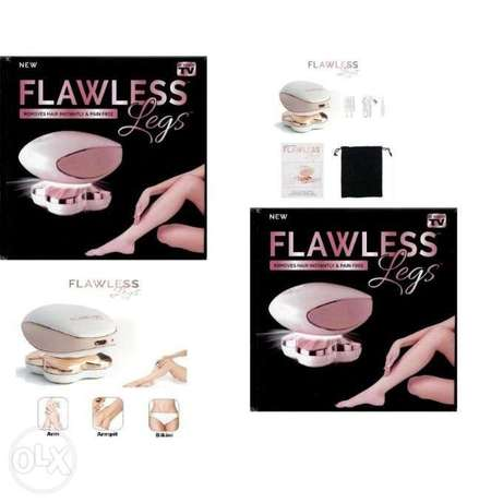 Flawless Instantly & Pain Free Electric Shaver- 2 pcs