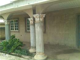 FOR SALE 4 bedroom bungalow at onibueja area of ido osun.
