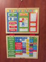 "Melissa and Doug magnetic ""My Daily Calendar"""