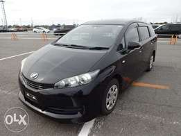 Toyota Wish fully loaded car arrived in Mombasa Port