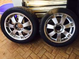 20 inch low profile rims complete