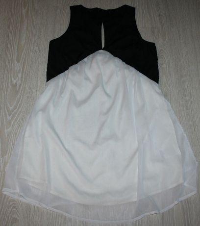 c074adb5f3 Sukienka letnia tunika Vero Moda r. M biało-czarna ciekawy wzór! Jastrzębie-