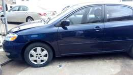 Clean Tokunbo Toyota corolla 2003 For Sale