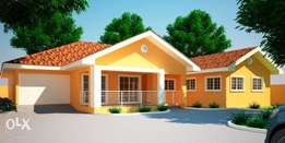 Elegant 4 bedroom architectural house design