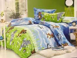 Kids duvet with a bedsheet and 2 pillowcases