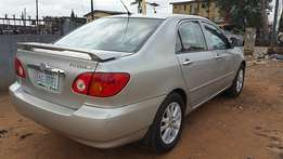 Toyota Corolla (2004) first body