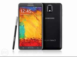 Samsung galaxy note 3 with 16GB memory card