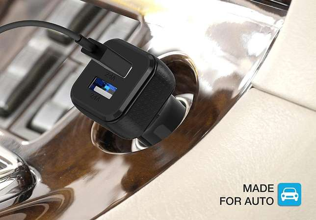 Car Charger Smart Port Car Charge r [Black] Nairobi West - image 4