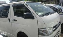 Manual petrol hiace