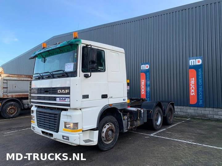 DAF XF 95 480 manual 6x4 full steel - 2004
