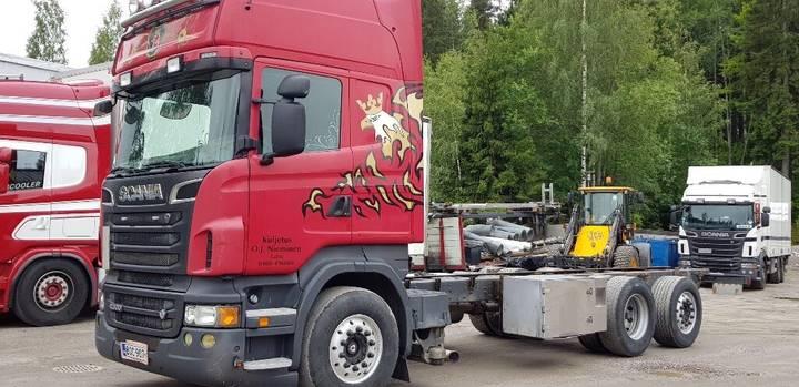 Scania R500 Topline 6x2 alustana - 2019