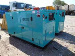 Selling diesel generators from Europe, new and used