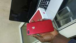 Red iphone 7plus 128gb like new