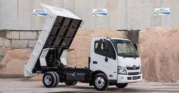 Used Hino 300 - 614 Tipper