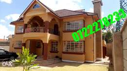 Well and good, 5 brs house for sale in kahawa sukari