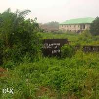 Full plot of land for sale at command.