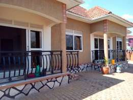 new two bedroom house for rent in kira at 450k