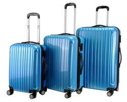 3 ABS travelling Suitcases