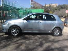 Toyota Runx 1.6 RT, Blue in color for sale