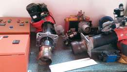 Gas burners units 100% owner ill