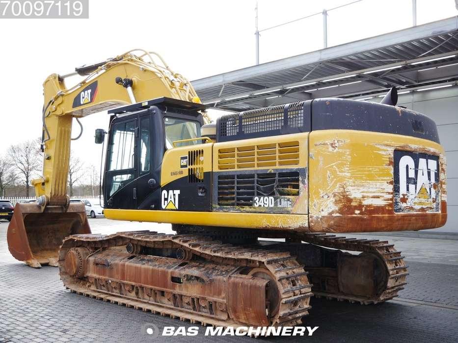 Caterpillar 349D LME Hammer line - CAT Bucket - 2014 - image 2