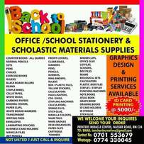 Stationery supply and printing