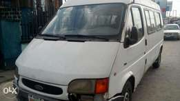 Very very sound firstbody Ford transit long frame with back axle