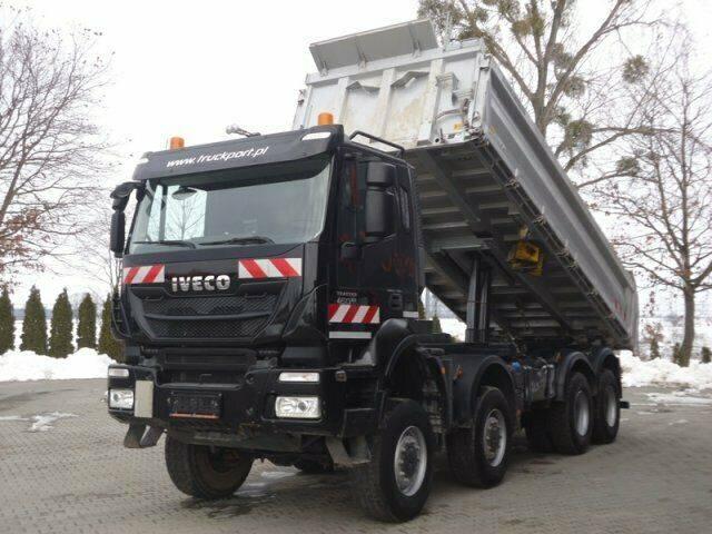 Iveco TRAKKER 450 8x8 EURO6 Dreiseitenkipper Meiller - 2014