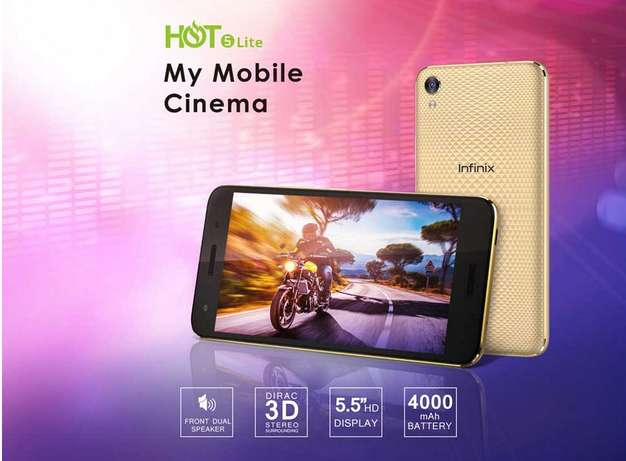 "INFINIX HOT 5 Lite (X559) - 5.5"" -16GB -1GB RAM - 8MP Camera - 3G - Du Nairobi CBD - image 4"