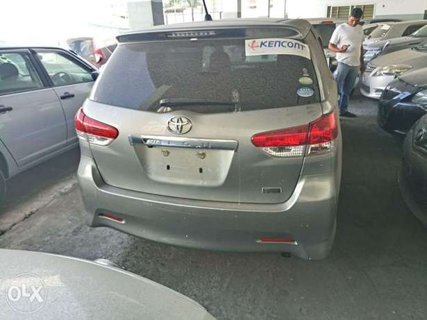 Choices of Black n Silver Toyota Wish 2010 KCP number Mombasa Island - image 5