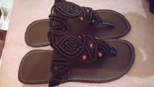 Beautiful macrame sandals. Nairobi West - image 5
