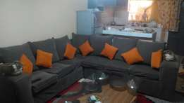 L shaped 7 seater sofa