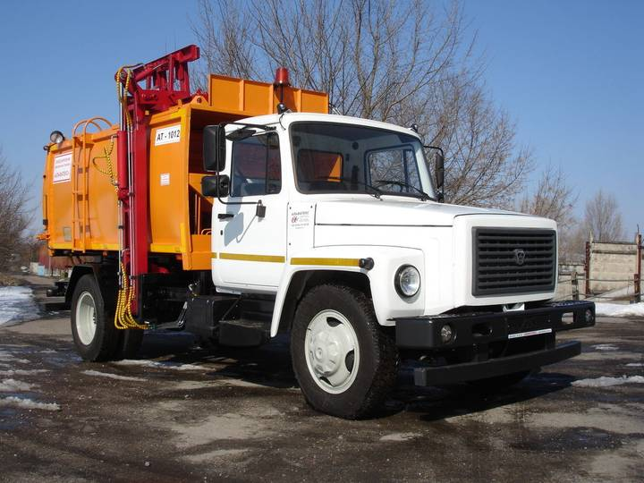 ГАЗ new at 1012 na shassi  33098 garbage truck - 2019