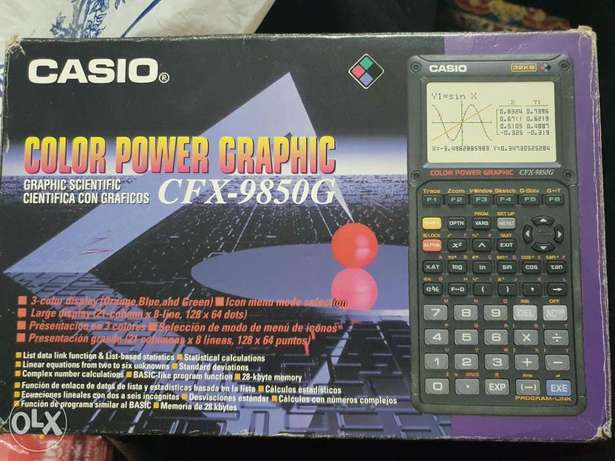 casio calculator cfx-9850g