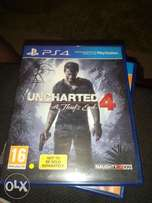Ps4 Uncharted 4 A thief's End for sale  Ikeja