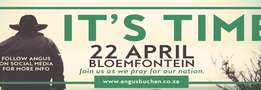 Its Time - Travel to Bloemfontein + 2 nights accommodation R995