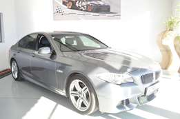 BMW 5 Series 520i A/t M-sport (f10) in very good condition and FSH