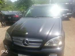 One year used Mercedes bens ml 350 05 tincan cleared
