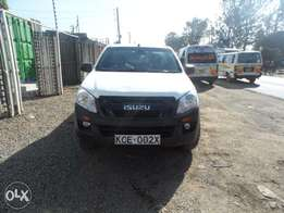 A clean and well maintained Isuzu d max